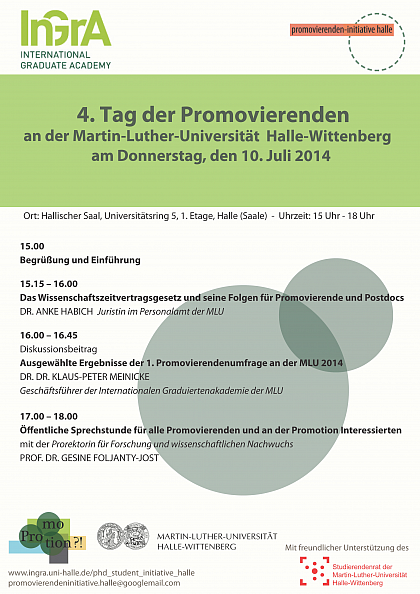 Poster Promovierendentag 2014